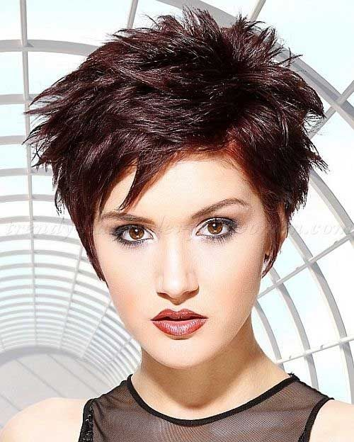 punk peinados para el pelo corto