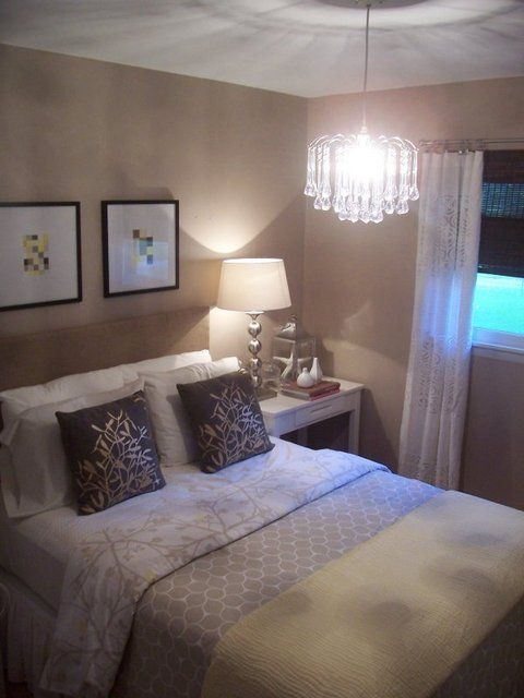 Best 25 small bedrooms decor ideas on pinterest for Brown and purple bedroom ideas