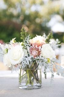 Madeline Trait - wedding centerpiece