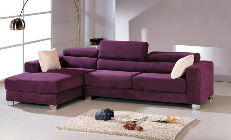 http://www.ireado.com/l-shaped-sofas-create-your-living-room-more-attractive/ L Shaped Sofas, Create Your Living Room More Attractive : Fascinating Purple L Shaped Sofas