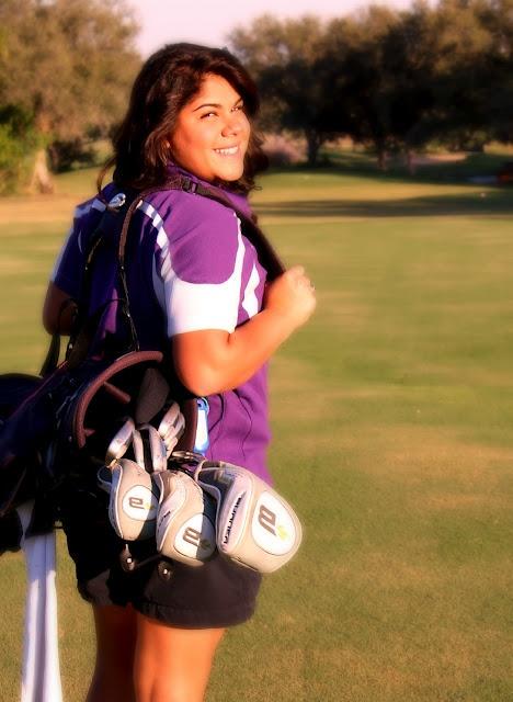 Senior photos - golf
