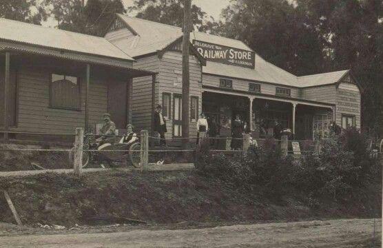 Main st Belgrave  1912.