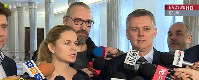 4 liderów opozycji i lider KOD wspólnie wzywa pod TK. Nowacka i Petru: Musimy stać ponad podziałami