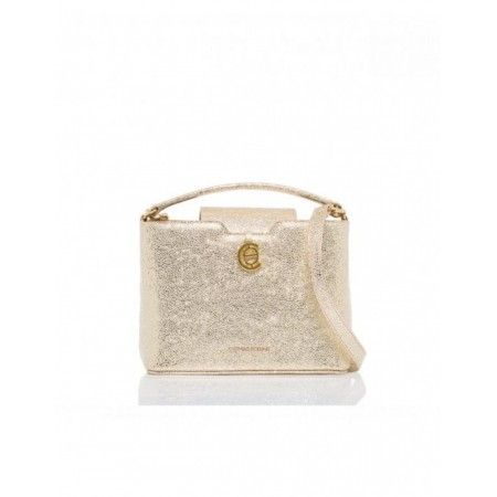 Fiona Leather Bag Golden