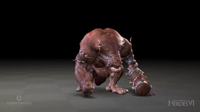 Next to the cinematics, Puppetworks also created the in-game animations for Might and Magic Heroes 6. The total number of individual animations is around 1500. All of them are keyframe (handmade) animations to ensure the quality and flexibility required by the frontline franchise and the diverse character design of fantasy creatures.