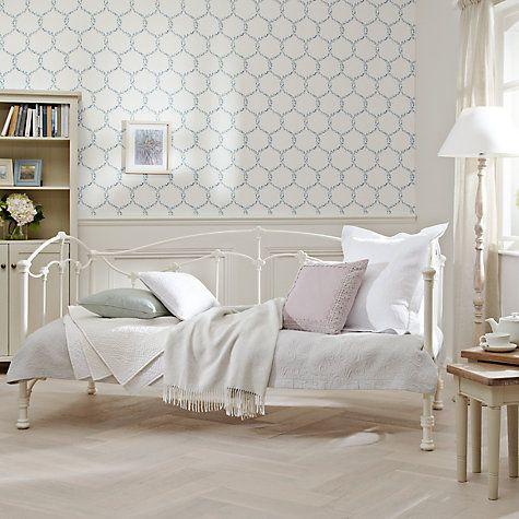 Buy John Lewis Daisy Day Bed Frame, Single, Cream Online at johnlewis.com