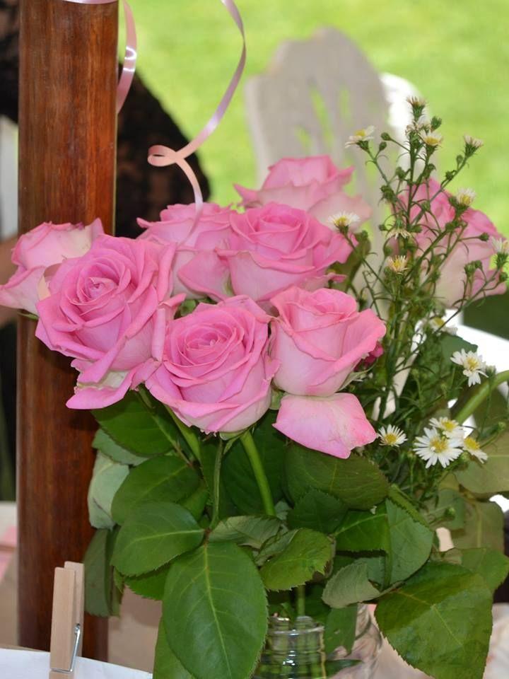 #kitchentea #pink #roses #hightea #table #decor www.jades.co.za
