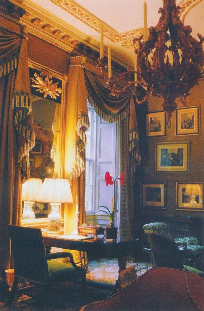 Club Room at 44 Berkeley Square, Mayfair by John Fowler