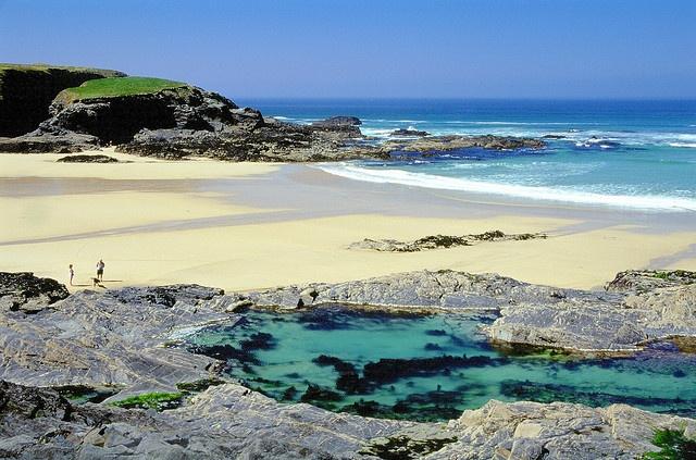 Treyarnon Bay Rock Pool #Cornwall