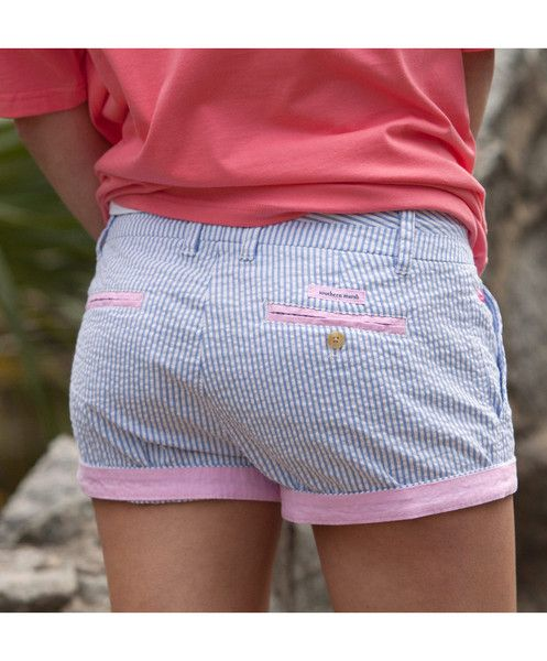 The Brighton Short from Southern Marsh is super comfy, cute and perfect for summer!
