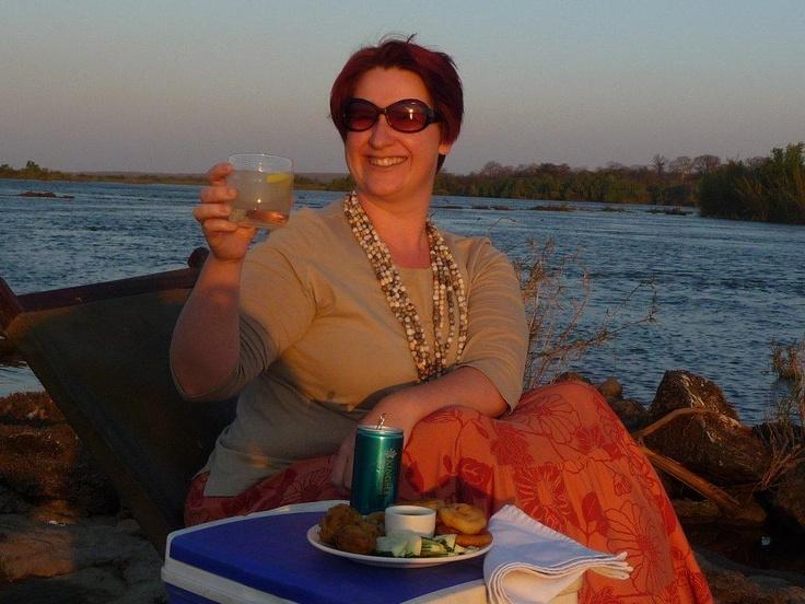 Sunset at #Siankaba! #Zambia