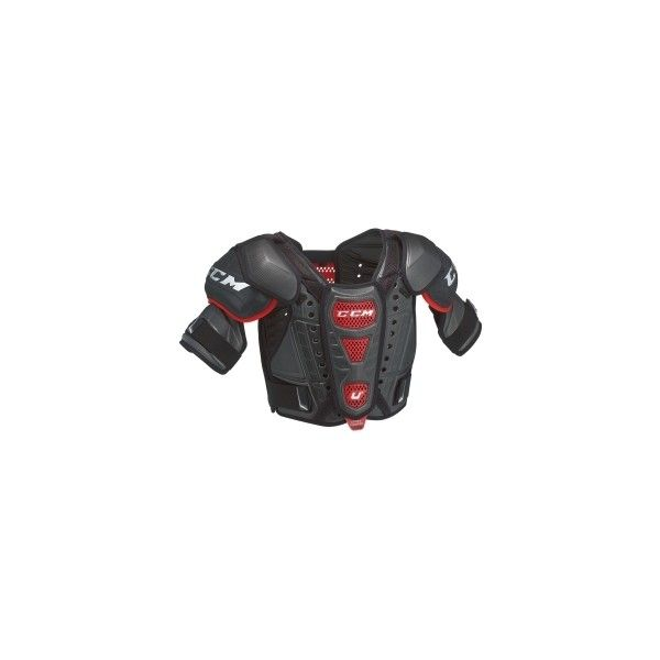 CCM Senior U+ Crazy Light Ice Hockey Shoulder Pads (2.640 ARS) ❤ liked on Polyvore featuring hockey and sport