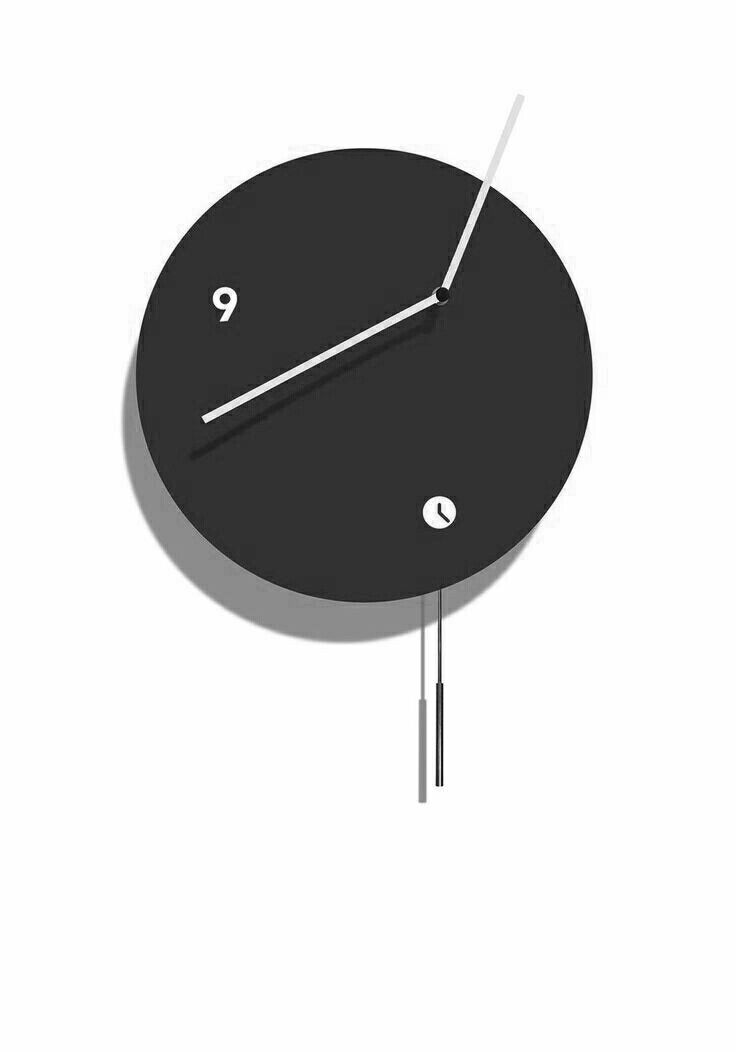 Contemporary clock /pendulum / indoor Globus Tothora