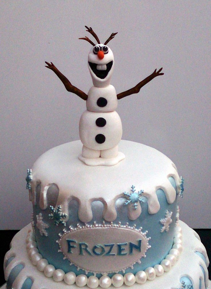 10 best Cakes images on Pinterest Frozen cake Birthday cakes