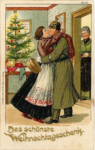 Old german postcard