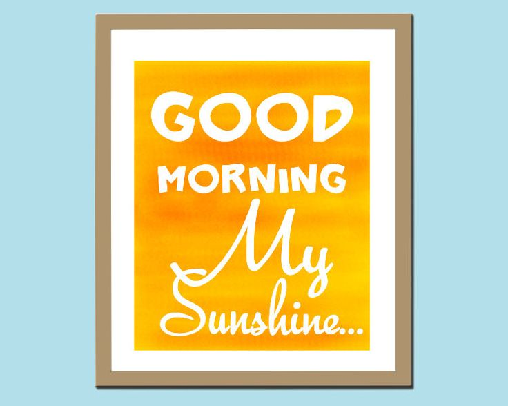 Good Morning Sunshine Tee : Best images about good morning on pinterest discover