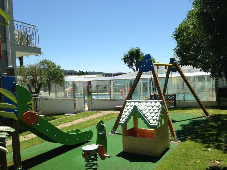 Parque infantil exterior - Hotel Nuevo Vichona - Sanxenxo - Pontevedra - Galicia