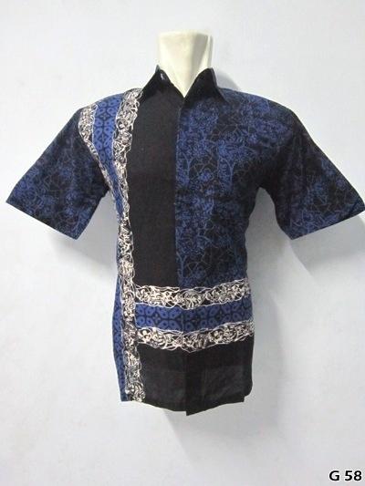 KODE G58  IDR 75.000 | Bahan : katun prima, batik sablon kombinasi | Size M, L, XL | Hotline : 081333303545 | BB Pin 2128117C.