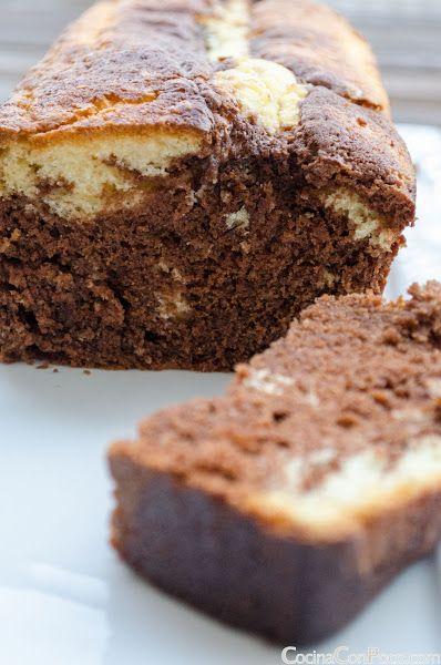 Bizcocho Marmolado - Sin Gluten - Receta paso a paso