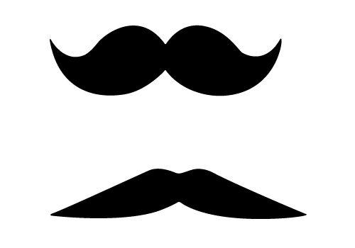 free vector mustache clip art - photo #41
