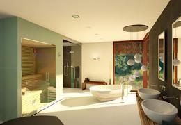 Badezimmer 20 QM