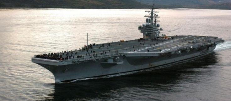 Corea del Nord, la 'armada' di Trump lascia il Mare del Giappone #USA #CoreadelNord #DonaldTrump #NotiziedalMondo