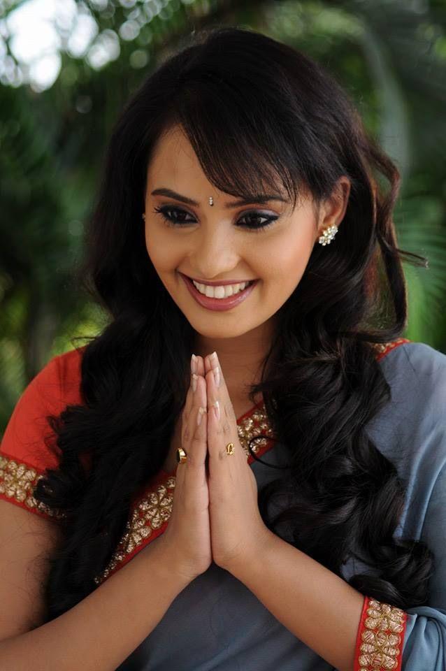 Aarushi in Saree