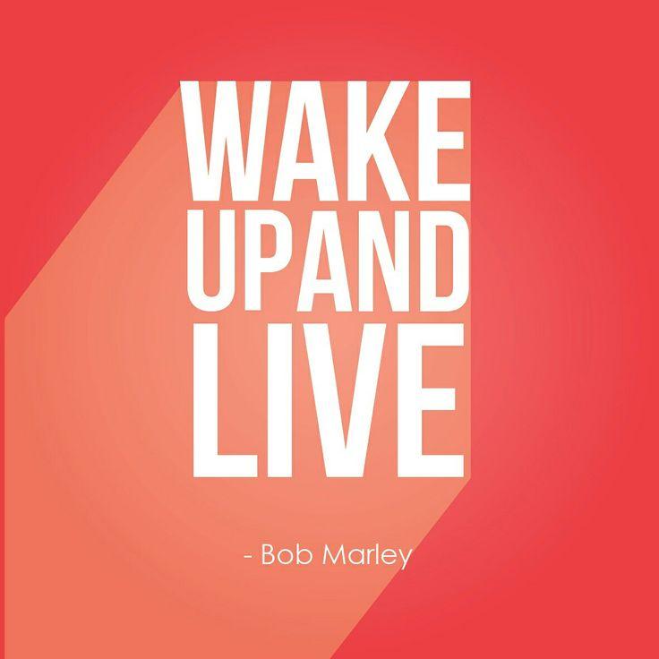 bila jatuh bangun kembali, Bila sudah bangun jangan pernah jatuh kembali #quotes #typography #wakeup #red