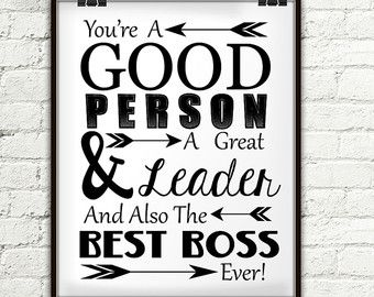 Thank You For Being A Wonderful Boss Gift For by StarPrintShop                                                                                                                                                                                 More
