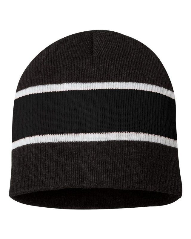 1c0c4143aad74c Greeting, Ladies top off your winter look with a chic and cozy stripes  beanie that