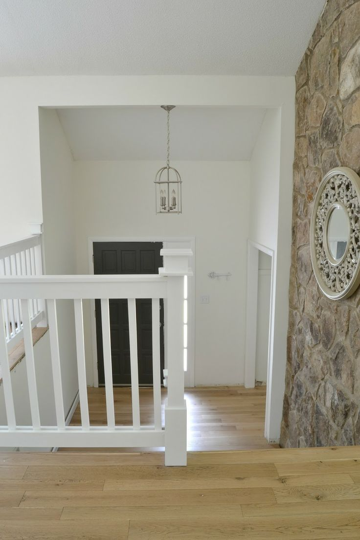 53 best ideas for multi level homes images on pinterest split our 1970 s house makeover part 7 the painted door and stair rail and my split level