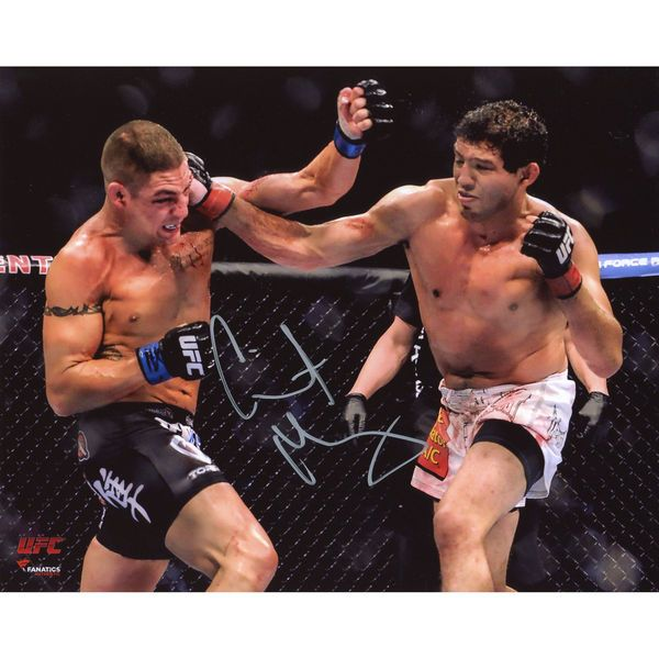"Gilbert Melendez Ultimate Fighting Championship Fanatics Authentic Autographed 8"" x 10"" Horizontal Punching Photograph - $49.99"
