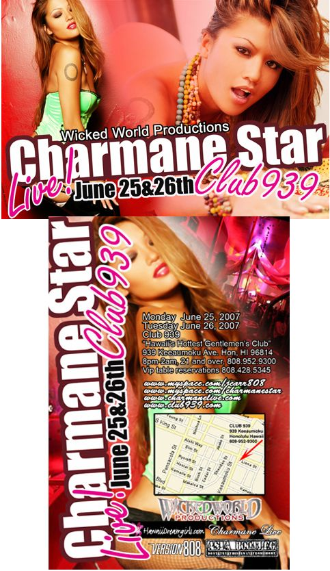 Charmane Star in Hawaii at Club 939  #CharmaneStar #Hawaii Find more at http://www.thekumachan.com/charmane-star-in-hawaii/