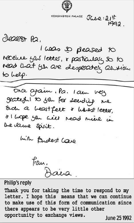 Best Lady Di  Her Letters Images On   Princesses