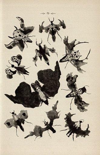 Inkblot art
