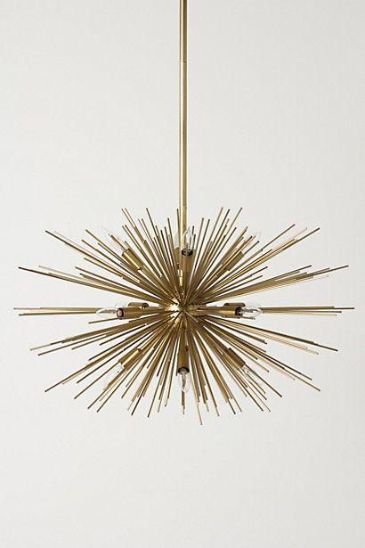 Sputnik-inspired. Satellite Chandelier #anthropologie