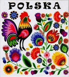 Wycinanki Folk  - Polska Rooster
