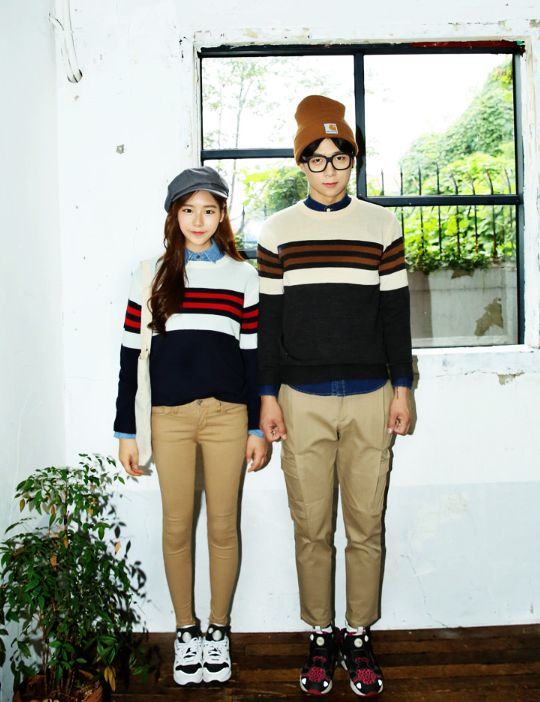 Korean Couple Fashion/Look  커플룩                                                                                                         ...