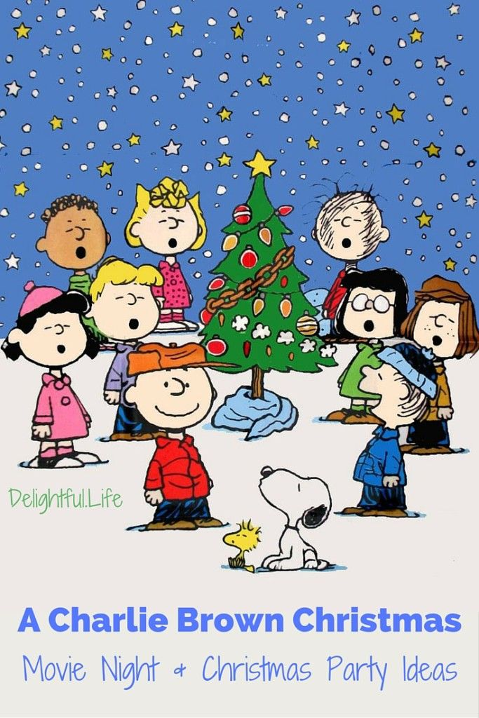 We've rounded up some ideas for A Charlie Brown Christmas party or movie night! Recipes, decor, activities, and other plans to make this year's tradition extra special!