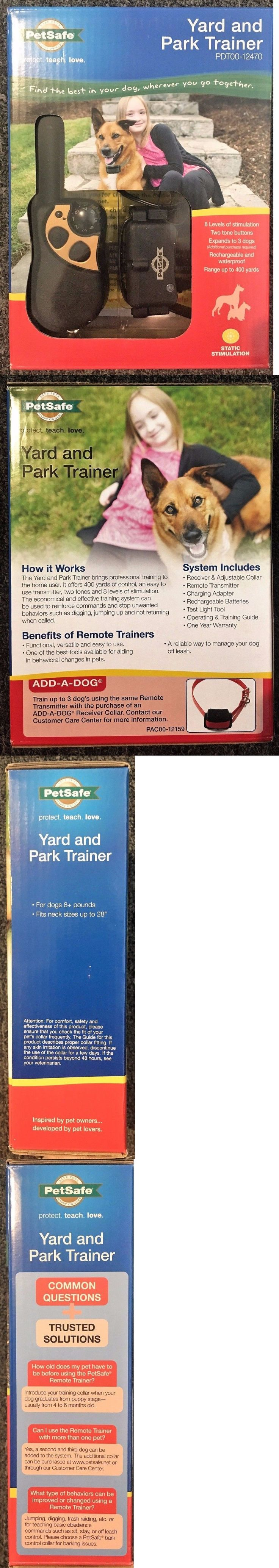 Bark Collars 66774: Petsafe Yard And Park Trainer Pdt00-12470 -> BUY IT NOW ONLY: $82.95 on eBay!