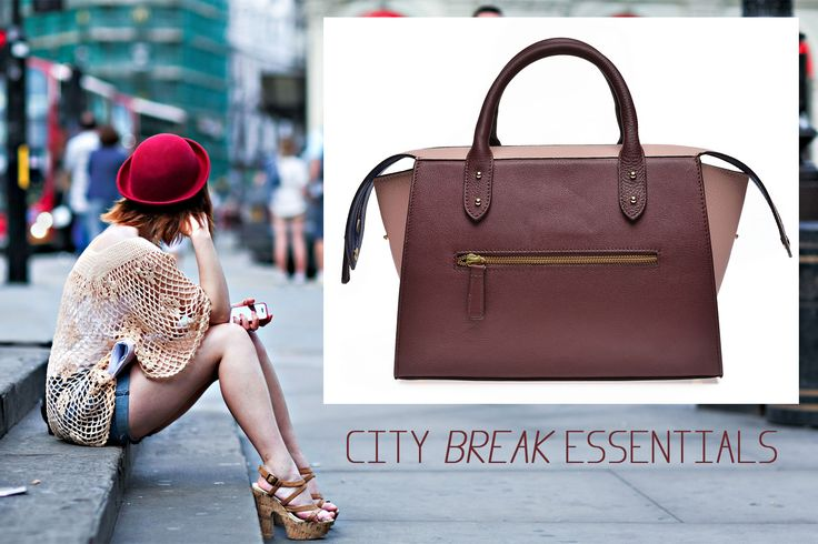 A perfect city break with a perfect bag@Wild Inga#order+4 0721.331.269 #holiday#leatherbag#color#elegance#fashion