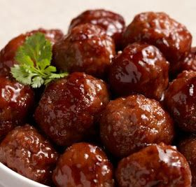 Melting Pot: Honey Garlic Meatballs (or sauce for meat)