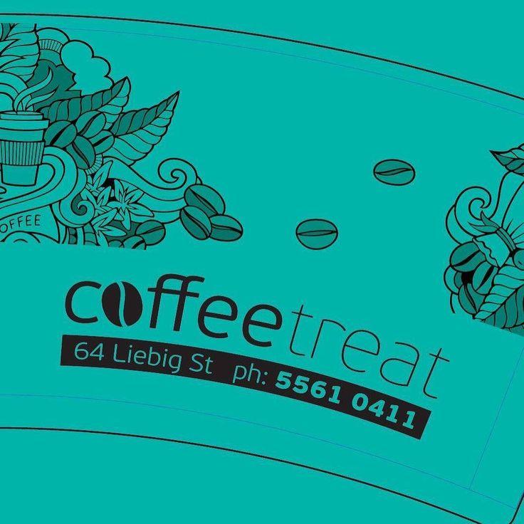 New cups ordered for# my coffee shop #coffeetreat #coffee3280 #destinationwarrnambool @gruffdesign <---#genius #socialcatnetwork by socialascat