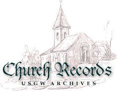 State by State index of church records transcribed by volunteers from US GenWeb