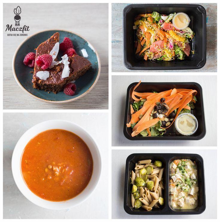 Zdrowy mix! #mix #meal #lunchbox #diet #box #dieta #catering #maczfit #posiłki #jedzenie #mniam #inspiracja #maliny #marchewka #zupa #sałatka #salad #makaron #penne #brukselka #zdrowe #sosy #oliwki