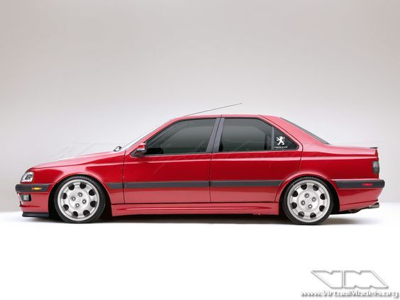 What a Peugeot 405 could look like. Photoshop by Sebastian Motsch (2012)