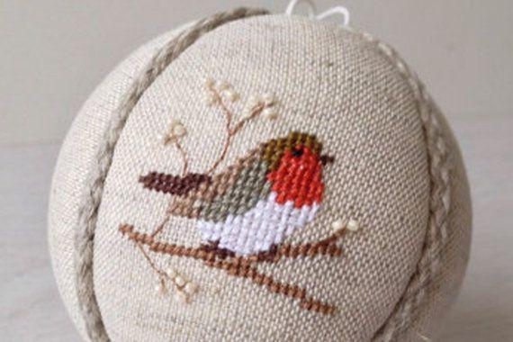 Ornamento di Natale decorazione albero di Natale sfera di RedPin