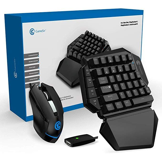 Gaming Keyboard And Mouse For Xbox One Ps4 Ps3 Nintendo Switch Pc Gamesir Vx Aimswitch E Sports Keypad And Mouse Combo Secret Game Xbox One Ps4 Or Xbox One