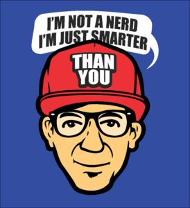 I'm Not a Nerd - Fabrily