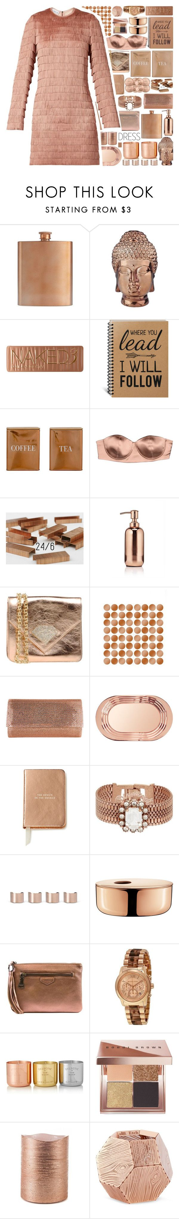 """""""Perfect Party Dress"""" by stelbell ❤ liked on Polyvore featuring W&P Design, Abbyson Living, Urban Decay, Bloomingville, Elisabetta Franchi, Argento Antico, Wall Pops!, Judith Leiber, Tom Dixon and Kate Spade"""